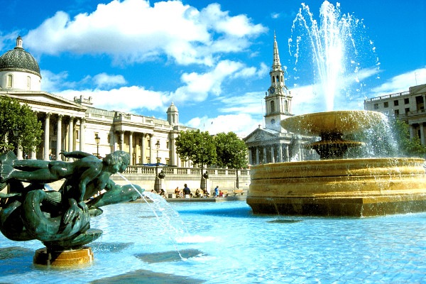 Trafalgar square Hôtel Ibis London City Shoreditch3* Londres Angleterre