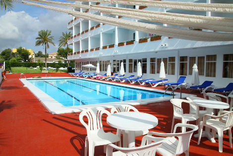Espace piscine et terrasse bar - Hotasa Sarah Hôtel Hotasa Sarah3* Majorque (palma) Baleares