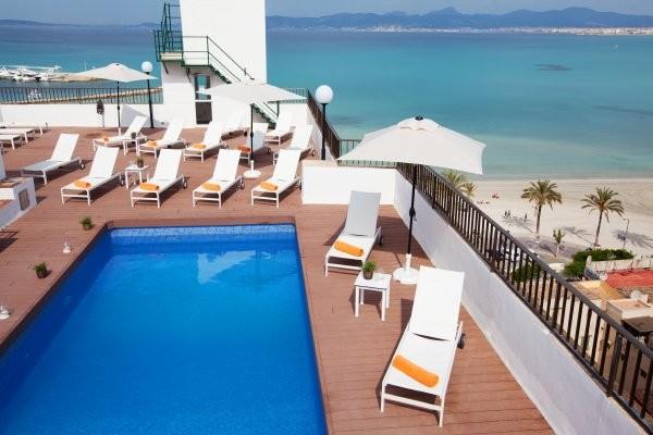piscine sur le toit - Whala Beach Hôtel Whala Beach3* Majorque (palma) Baleares