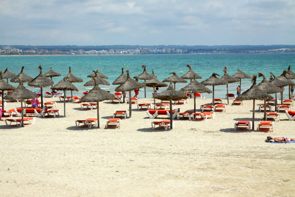 Parasols - Nautic Hôtel Nautic4* Majorque (palma) Baleares