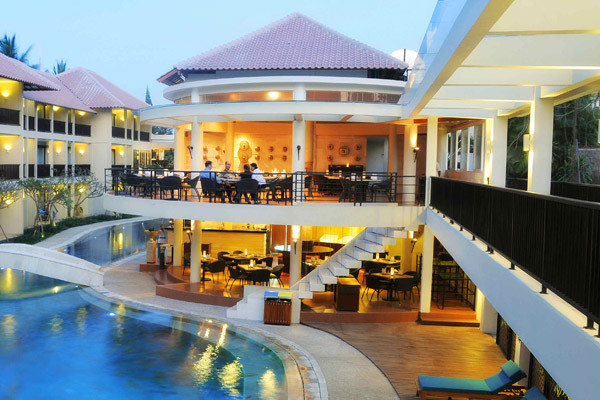 Bar piscine - The Camakila Legian Hôtel The Camakila Legian4* Denpasar Bali