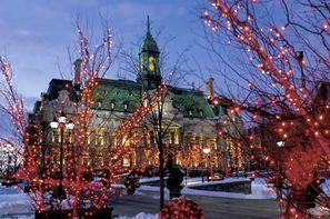 Hôtel Fêtes de fin d'année à la Montréalaise