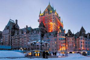 Hôtel Fêtes de Fin d'Année à la Québécoise