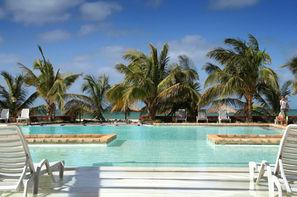 Cap Vert - Ile de Boavista, Hôtel Parque Das Dunas - En front de mer, sur la plage de Praia de Chaves