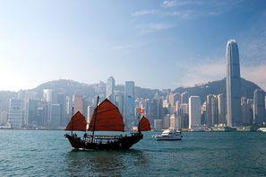 Chine-Hong Kong, Hôtel Réveillon à Hong Kong