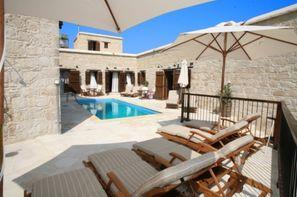 Chypre-Larnaca, Hôtel Leonidas villages houses + location de voiture