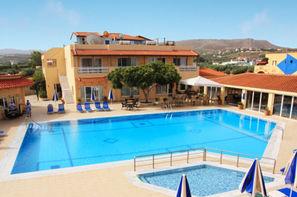 Crète-Analipsis, Hôtel Lavris hôtel and bungalows 4*