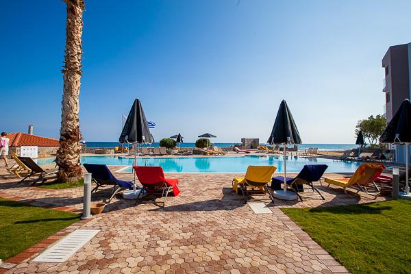 Carolina Mare - piscine - Carolina Mare  Hôtel Carolina Mare4* Heraklion Crète