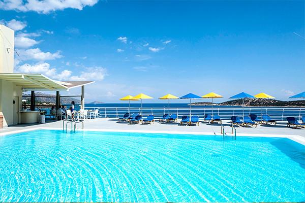 piscine - Coral Beach Hôtel Coral Beach3* Heraklion Crète