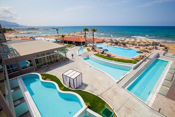 Carolina Mare  - vue panoramique - Carolina Mare  Hôtel Carolina Mare4* Heraklion Crète