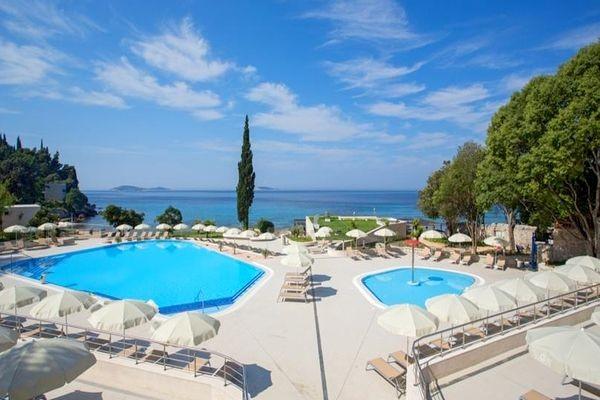 Piscine - Astarea Hôtel Astarea3* Dubrovnik Croatie
