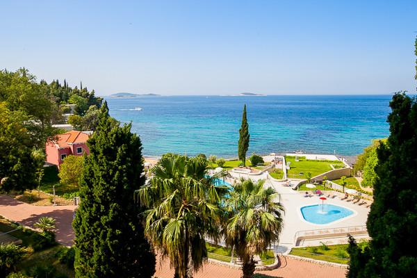 Vue d'ensemble - Astarea Hôtel Astarea3* Dubrovnik Croatie