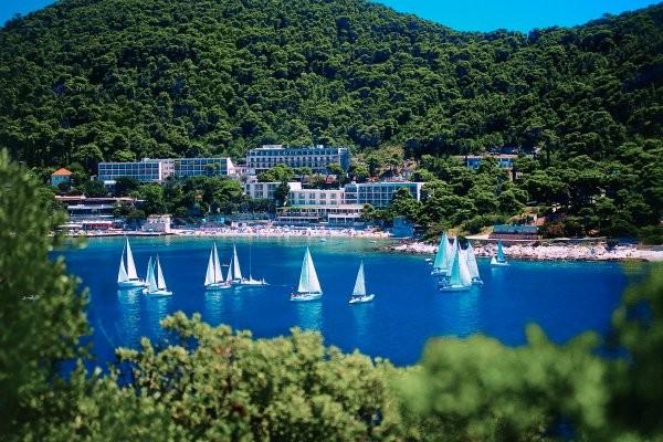 Baie de Lapad - Vis Hôtel Vis3* Dubrovnik Croatie