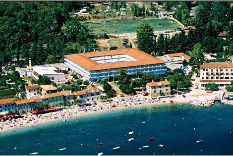 Vue hôtel - Marina Hôtel Marina3* sup Pula Croatie