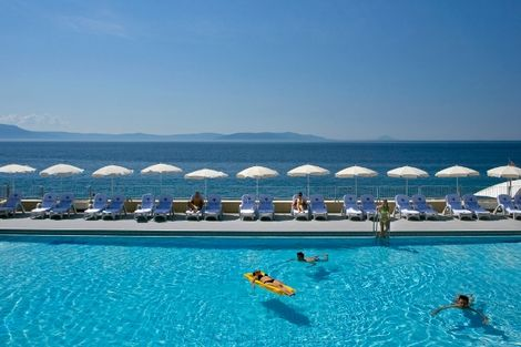 Avis voyageur : Croatie Rabac Hôtel Girandella 2*