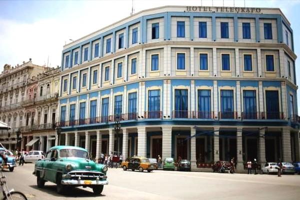 Façade - Telegrafo Hotel Telegrafo4* La Havane Cuba