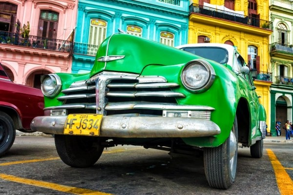 Voiture américaine Chambre d'hôtes La Havane, Chez l'Habitant La Havane Cuba