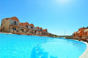 Egypte-Hurghada, Hôtel Rohanou Ecolodge & Beach Resort 4*
