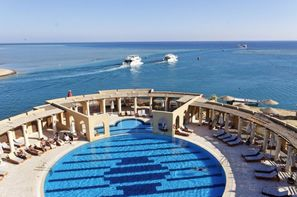 Egypte-Hurghada, Hôtel Three Corners ocean View 4*
