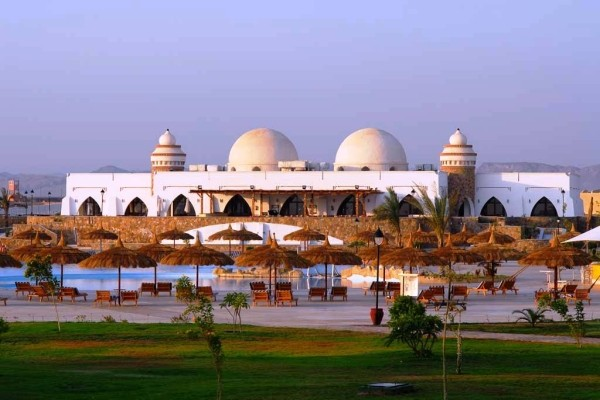 Vue panoramique de l'hôtel - Gorgonia Beach Hôtel Gorgonia Beach5* Marsa Alam Egypte