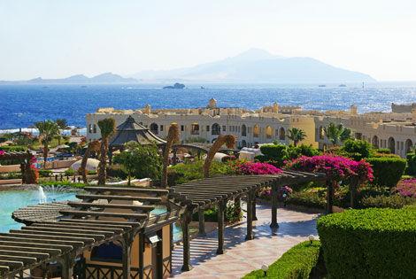 Vue d'ensemble - Sea Club Resort Hôtel Sea Club Resort4* Sharm El Sheikh Egypte