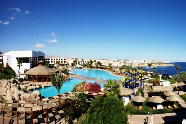 Vue panoramique de la piscine - Sea Magic Hôtel Sea Magic5* Sharm El Sheikh Egypte