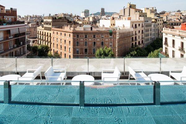 Terrasse - Catalonia  Eixample 1864 Hotel Catalonia Eixample 18644* Barcelone Espagne