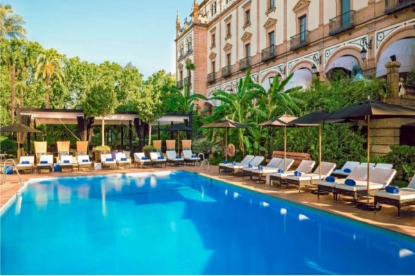 hotel alfonso xiii seville espagne promovacances
