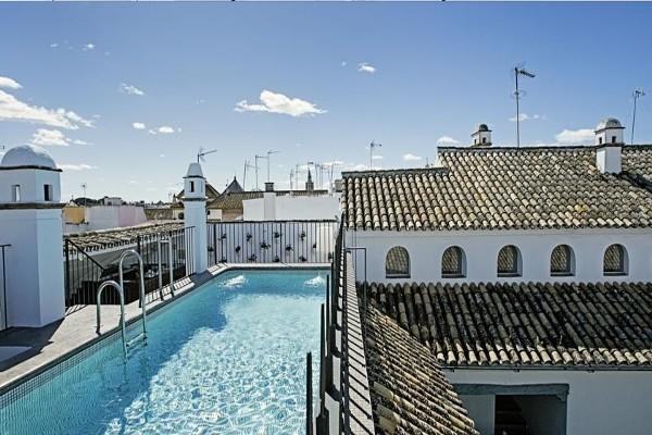 terrasse - Hopes Las Casas Del Rey De Baeza Hotel Hospes Las Casas Del Rey De Baeza4* Seville Espagne