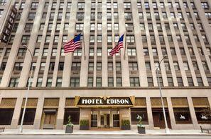 Etats-Unis-New York, Hôtel Edison 3*
