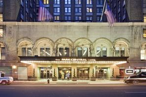 Etats-Unis-New York, Hôtel Park Central 4*