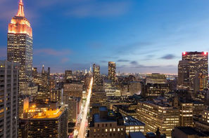 Etats-Unis-New York, Hôtel Residence Inn by Marriott Times Square 3* sup