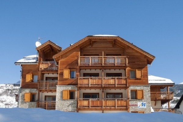 facade - Le Chalet de l'Eterlou Résidence avec services Le Chalet de l'Eterlou Serre Chevalier France Alpes