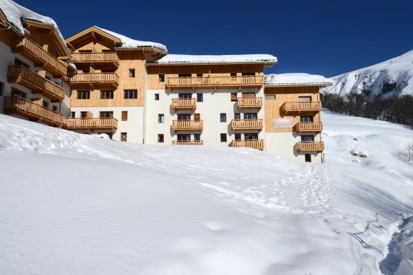 facade - Les Bergers Résidence avec services Les Bergers Valloire France Alpes