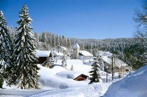 France Franche-Comté-Bois D'amont, Village Club du Soleil Bois d'Amont + forfait et matériel de ski 3*