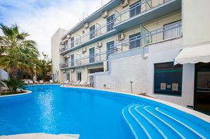 Grece-Athenes, Hôtel Kanelli Beach 2*