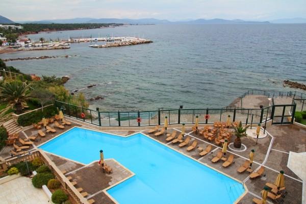 vue - Aquamarina Hôtel Aquamarina3* sup Athenes Grece