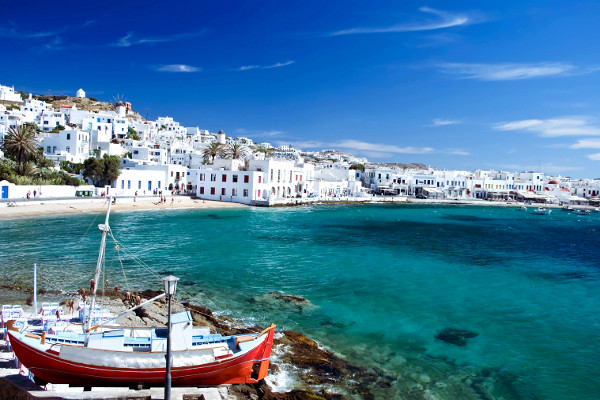 Push iles grecques Août