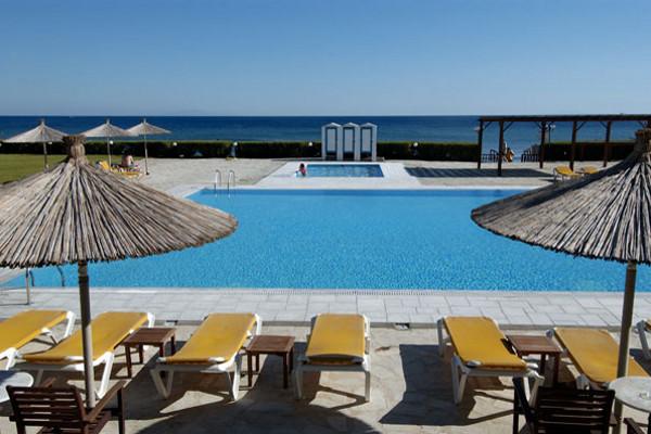 piscine - Tinos Beach. Hotel Tinos Beach.3* Mykonos Grece