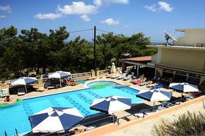 Grece-Rhodes, Hôtel Appartement Panorama Faliraki 3*
