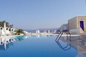 Grece-Santorin, Hôtel Santorini View 3* - arrivée Santorin 3*