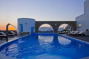 Grece-Santorin, Hôtel Vigla 3*