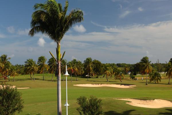 Vue Golf - Bwa Chik & Golf Hôtel Bwa Chik & Golf3* Pointe A Pitre Guadeloupe
