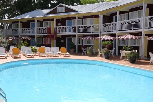 piscine - La Maison Créole Hôtel La Maison Créole3* Pointe A Pitre Guadeloupe