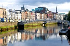 Irlande-Dublin, Hôtel City Break à Dublin - Hôtel Arlington O'Connell Bridge 3*