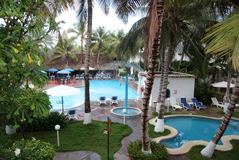Vue sur les piscines - Flamboyant Hôtel Flamboyant3* Porlamar Isla Margarita