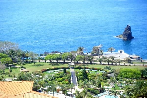 Vue panoramique - Raga Hotel Raga4* Funchal Madère