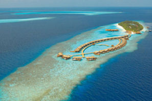 Maldives-Male, Hôtel Lily Beach Resort & Spa 5*