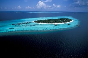 Maldives-Male, Hôtel Olhuveli Beach Resort & Spa 4*
