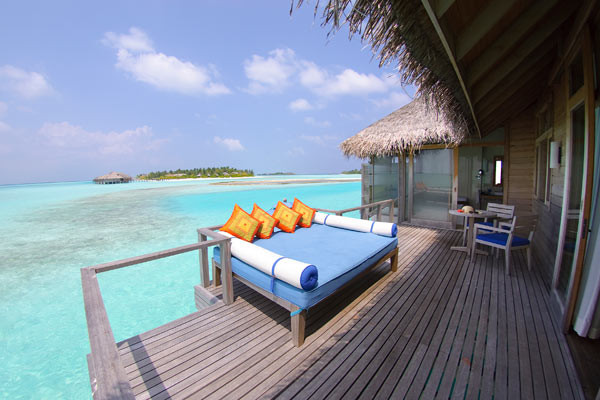 Terrasse - Anantara VELI Resort & Spa - Over-Water Bungalow Hotel Anantara VELI Resort & Spa - Over-Water Bungalow		5* Male Maldives